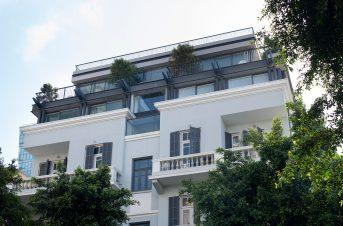 מבנה שימור למגורים ומשרדים