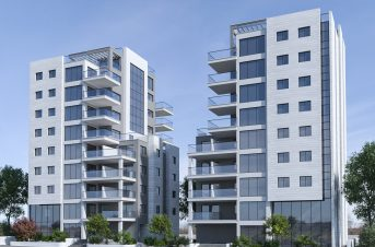 הקמת שני מבני מגורים בגוש הגדול תל אביב